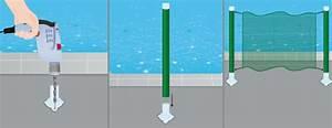 Cloture Souple Piscine : poser une cl ture souple de piscine portail cl ture ~ Edinachiropracticcenter.com Idées de Décoration