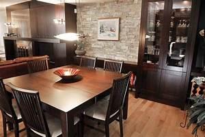 quand l39expresso se marie avec bois et ardoise lise With meuble de salle a manger contemporain pour deco cuisine
