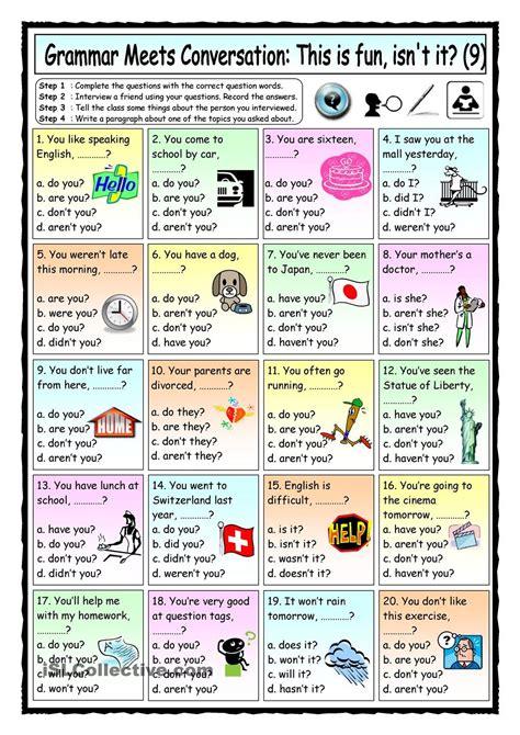 grammar meets conversation 9 question tags 9 asking