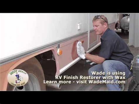 remove rv gel coat oxidation   simple ways