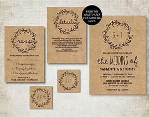 wedding invitation template classic wreath wedding invite With classic plain wedding invitations