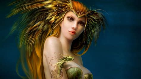 Sexy 3d Fantasy Girls Wallpapers  2013 Free Wallpapers