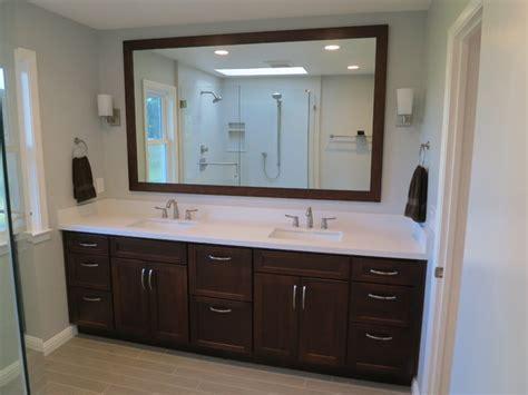 outside kitchen cabinets master bathroom vanity transitional bathroom san 1321