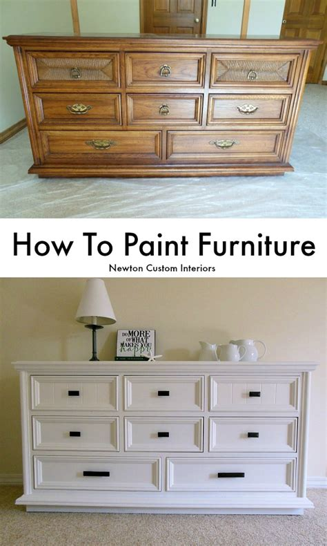 paint furniture newton custom interiors