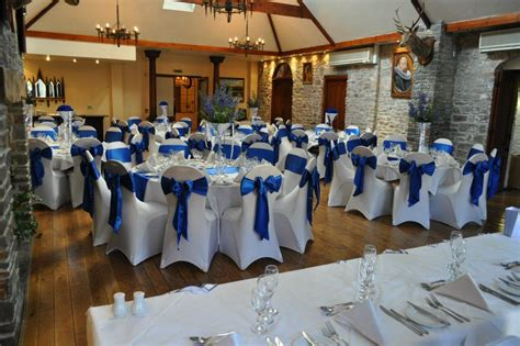 wedding and event venue decorators in wales chair covers