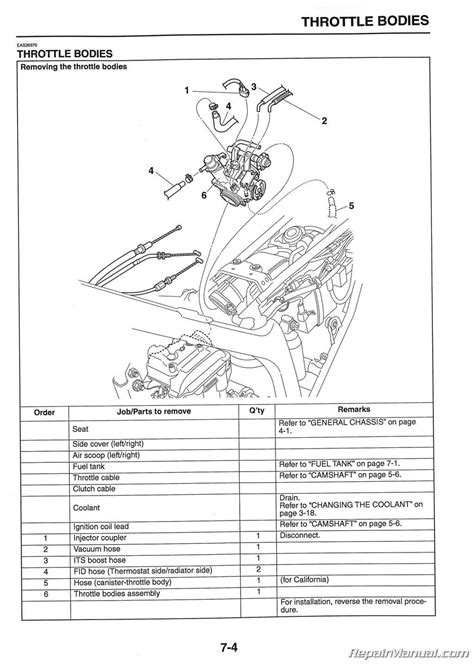2008 Yamaha R6 Wiring Diagram Part by 2008 2015 Yamaha Wr250r Wr250x Motorcycle Service Manual