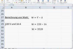 Watt Berechnen Formel : video volt watt umrechner so gelingt ihnen die umrechnung ~ Themetempest.com Abrechnung