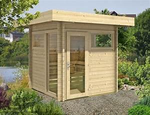Wochenendhäuser Aus Holz : gartensauna ohne vorraum kaufen ~ Frokenaadalensverden.com Haus und Dekorationen