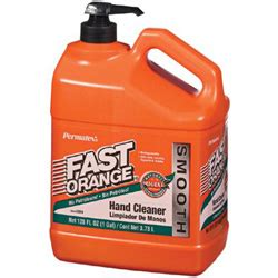 Permatex Fast Orange Smooth Lotion Hand Cleaner, 1gal