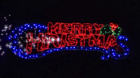 rope light merry christmas sign xs youtube