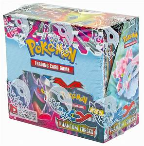 pokemon phantom forces booster box images
