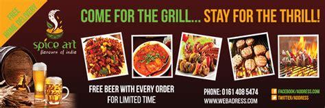 Personalised Restaurant Banners - Vinyl Banner Printing