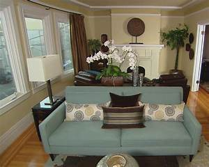 Contemporary Asian Living Room   HGTV