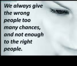 Quotes About Wrong People
