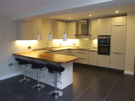contemporary handleless kuhlmann kitchens our