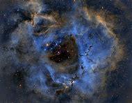Rosette Nebula Hubble