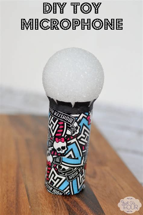 diy toy microphone