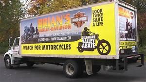 box truck wrap for brian39s harley davidson apple With truck lettering philadelphia