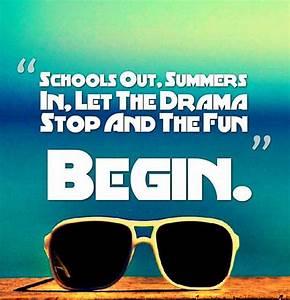 Summer Vacation... Fun Seasonal Quotes