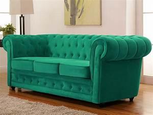 Canape Vert Emeraude : canap vert achat en ligne ~ Teatrodelosmanantiales.com Idées de Décoration