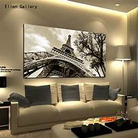 home wall art Home Decor Wall Art Canvas Painting Wall Pictures For Bedroom Quadro Cuadros Decoration Paris ...