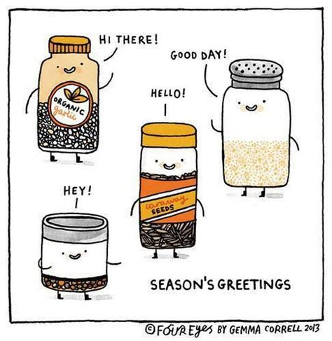 cuisine humour seasoning greetings food puns and jokes