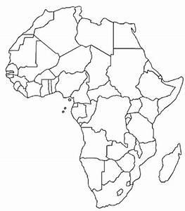 Free blank printable of Africa. | Afrika | Pinterest ...