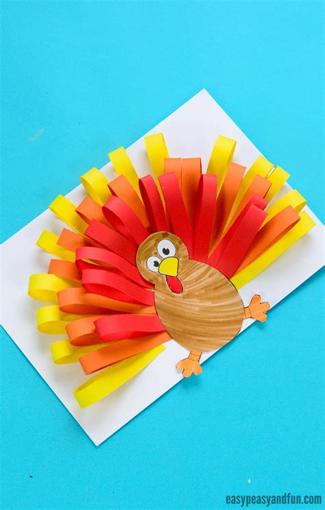 simple paper turkey craft paper turkey craft easy peasy and 5430