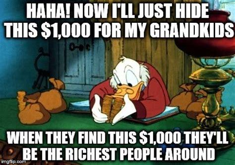 Scrooge Mcduck Meme - scrooge mcduck 2 and inflation imgflip
