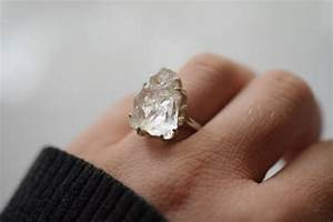 10 stunning raw engagement rings intimate weddings With diy wedding ring