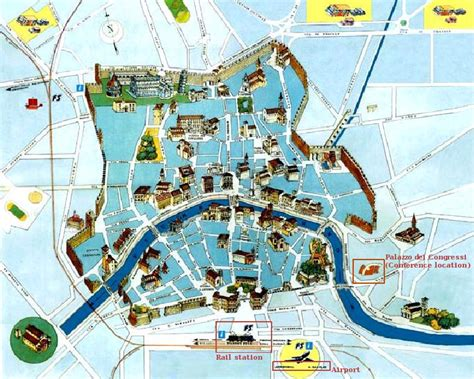 pisa city map visual map of delft