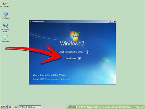 How to Upgrade or Clean Install Windows 7 from XP: 9 Steps