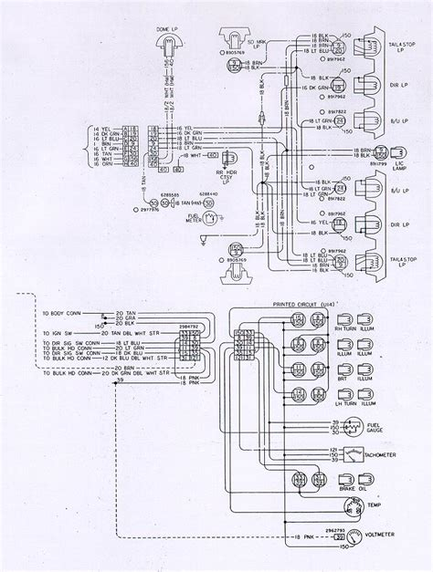 1978 Chevy Turn Signal Wiring Diagram by I M Troubleshooting A 1981 Firebird Instrument Cluster And