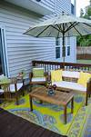 DECK-orating!   The Mini-Deck Makeover   Still Being Molly outdoor patio deck