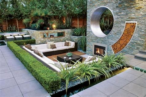 24 Wonderful Modern Backyard Landscaping Design Ideas