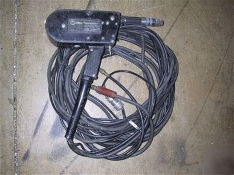 miller spoolmatic 1 aluminum mig wire feeder welder gun