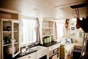 Equipement Interieur Mobil Home : park model home decorating ideas beach cottage chic mobile home living ~ Melissatoandfro.com Idées de Décoration