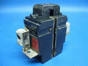 Old Style Pushmatic Bulldog Ite 100 Amp Main Breaker P2100