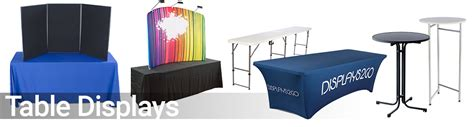 trade displays supplies booths banners table