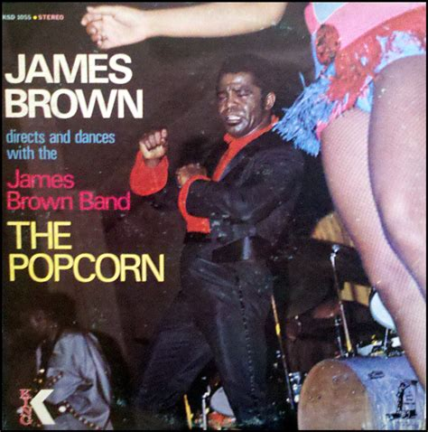 lp  popcorn  james brown superfan club