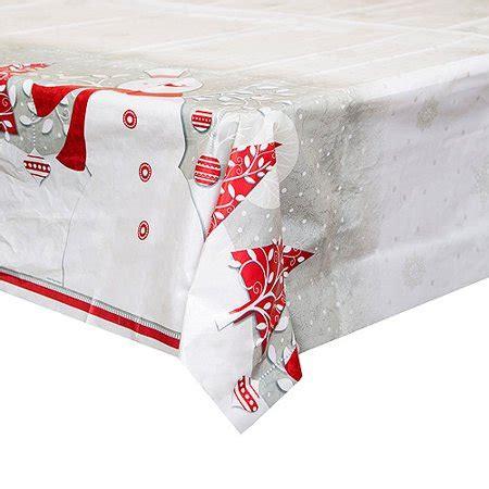 Tisch Eindecken Weihnachten by Plastic Frosted Table Cover 84 Quot X 54