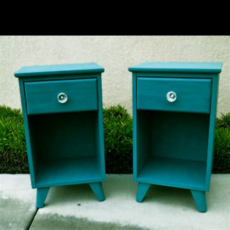 Teal Nightstand by Teal Nightstands I This Color Getaway