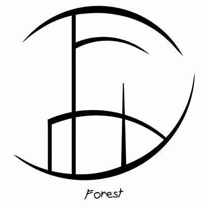 Sigil Sigils Forest Water Symbols Sky Witch