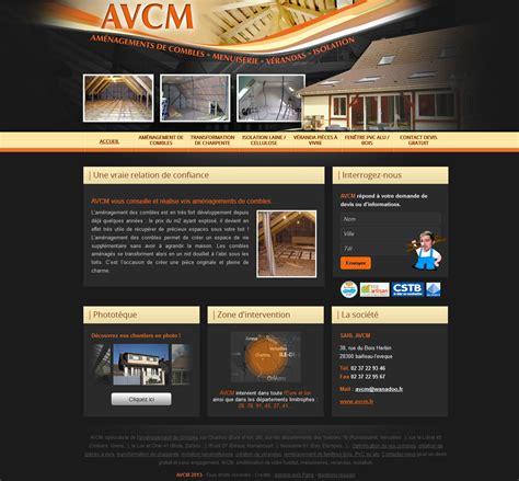 cr 233 ation d un site agence web cvmh