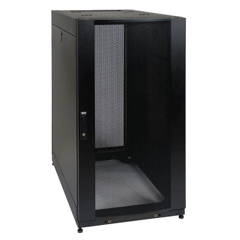 server rack cabinet tripp lite 25u rack enclosure server cabinet doors and