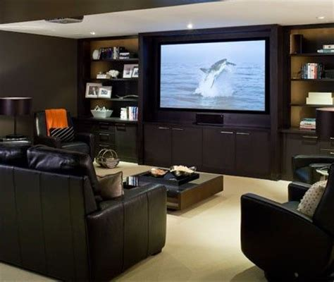 ideas of home theater furniture seating media room design