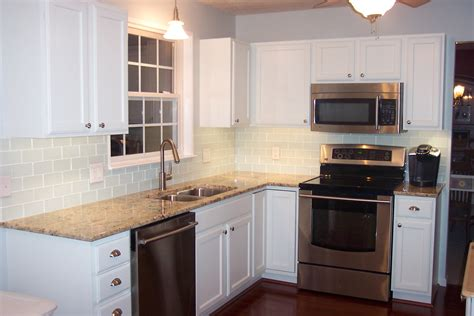 Even an old electric mixer from. White Kitchen Backsplash Ideas - HomesFeed