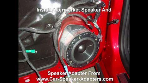 replace front door speakers   chevrolet camaro