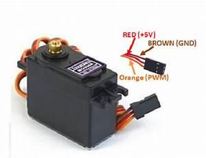 Mg996r Servo Motor Wiring Diagram In 2019