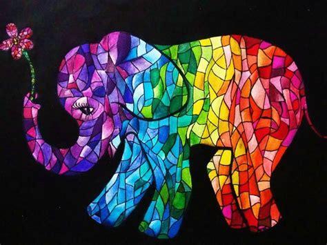 Easy Painting Ideas Elephant